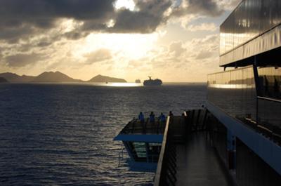 Caribbean sunrise!