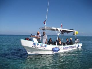 ScubaTony scuba diving cozumel mexico