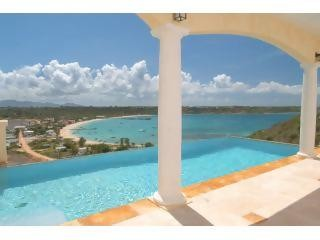 Spyglass Hill Villa - North Hill overlooking Road Bay harbor, Anguilla