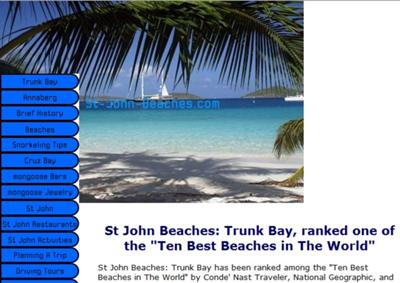 St-John-Beaches.com