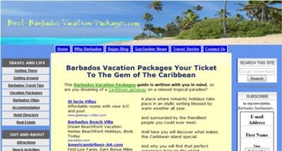 Best Barbados Vacation Packages