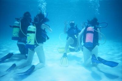 Shoal Bay Anguilla - Shoal Bay Scuba (Karma Charters) Ltd. - Students