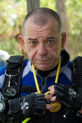 Jim Driscoll of  Oceansports Technical Diving (Barbados) LTD
